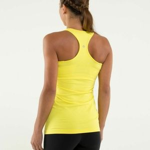 Lululemon Cool Racerback Tank Top Mellow Yellow 4